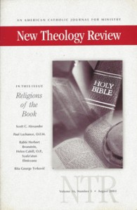 New Theology Review with Betty Scheetz's article